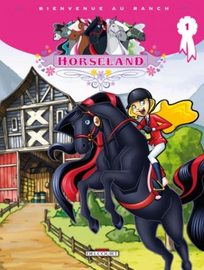 image de horseland tome 1 - bienvenue au ranch