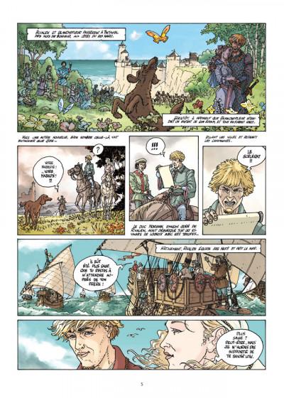 Page 3 Tintagel tome 1 - Yseut la blonde