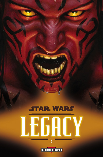 Couverture star wars - legacy tome 6 - renégat