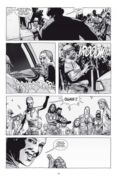 Page 3 walking dead tome 11 - les chasseurs