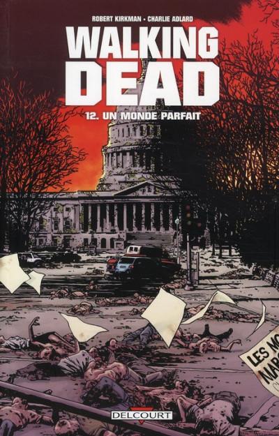 Couverture walking dead tome 12 - un monde parfait