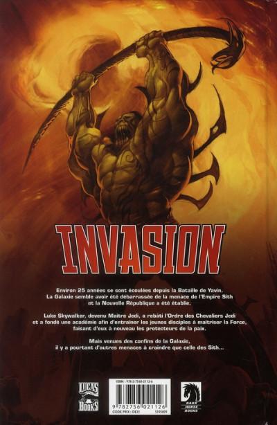 Dos star wars - invasion tome 1 - réfugiés