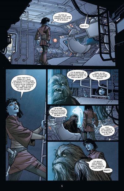 Page 2 star wars - invasion tome 1 - réfugiés