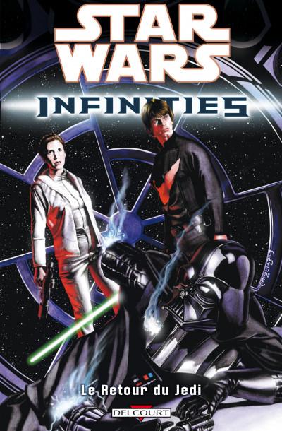 Couverture star wars infinities tome 3 - le retour du jedi