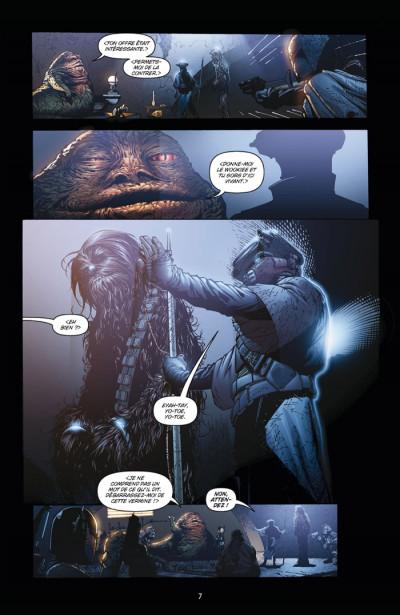 Page 3 star wars infinities tome 3 - le retour du jedi
