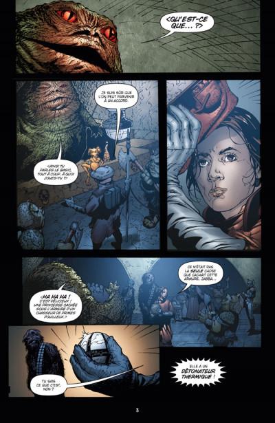 Page 4 star wars infinities tome 3 - le retour du jedi