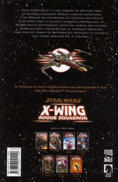 Dos star wars x-wing rogue squadron tome 7 - requiem pour un pilote