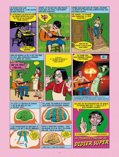 Page 3 vraie vie de didier super tome 1