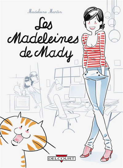 Couverture les madeleines de mady tome 1