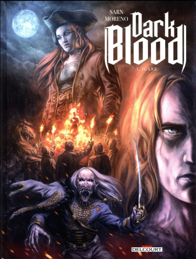 Couverture Dark blood tome 1