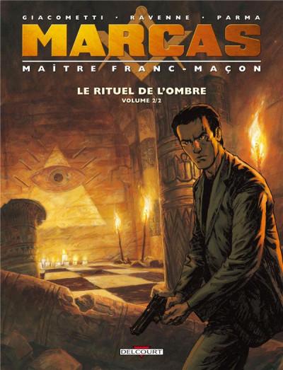 Couverture Marcas, maître franc-maçon tome 2