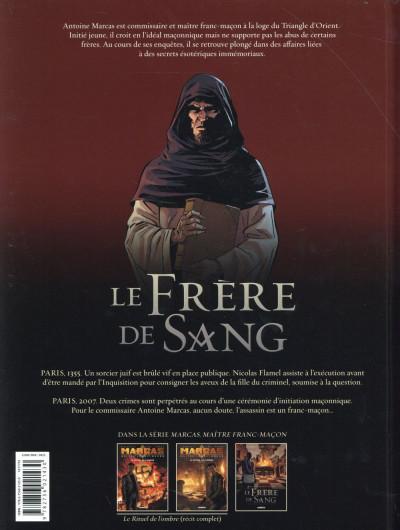 Dos Marcas, maître franc-maçon tome 3