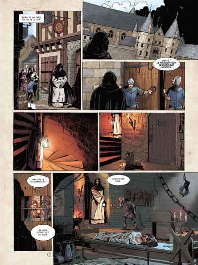 Page 1 Marcas, maître franc-maçon tome 3