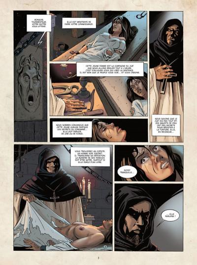 Page 2 Marcas, maître franc-maçon tome 3