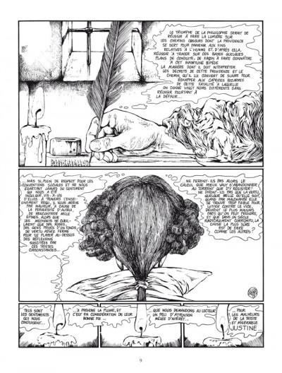 Page 1 Justine, d'après le marquis de sade