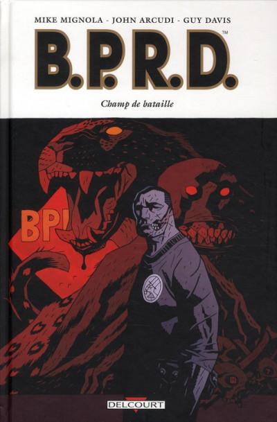 Couverture b.p.r.d. tome 8 - champ de bataille