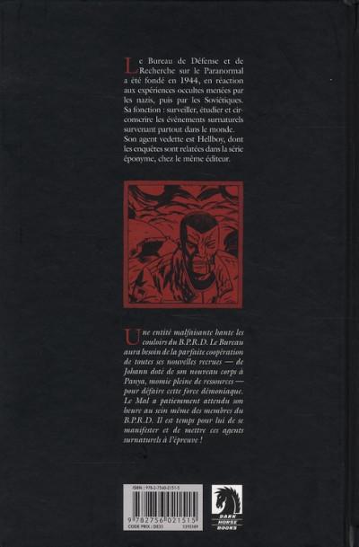 Dos b.p.r.d. tome 8 - champ de bataille