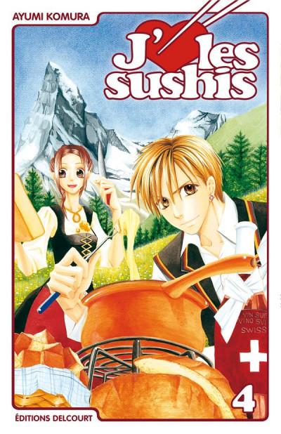 image de j'aime les sushis tome 4