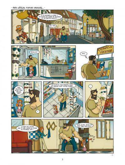 Page 1 un coin de ciel bleu tome 2 - le bruit des pas dans la neige