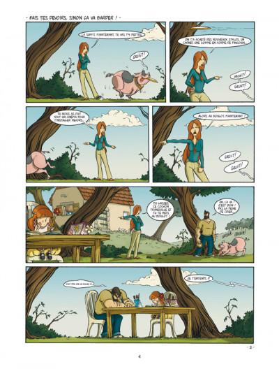 Page 2 un coin de ciel bleu tome 2 - le bruit des pas dans la neige