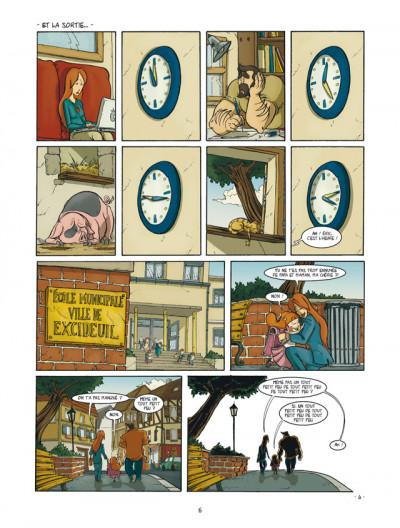 Page 4 un coin de ciel bleu tome 2 - le bruit des pas dans la neige