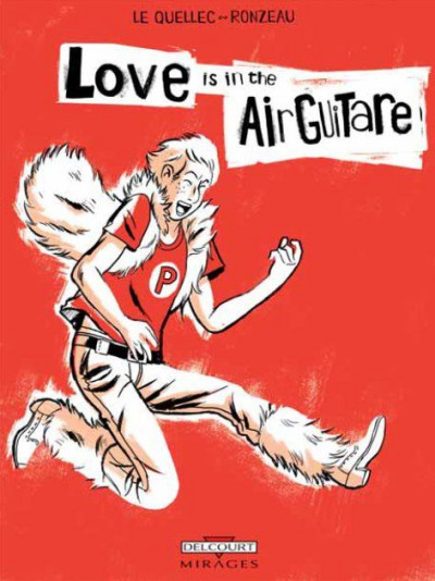 Couverture love is in the air guitare