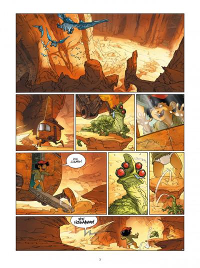Page 1 l'honneur des Tzarom tome 2 - le théorème de l'exfiltration