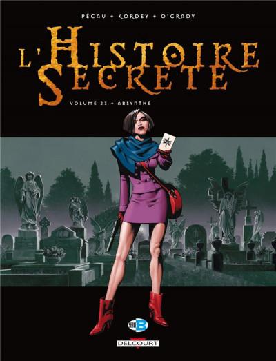 Couverture L'histoire secrète tome 23 - absynthe