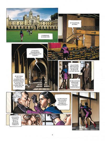 Page 4 L'histoire secrète tome 23 - absynthe