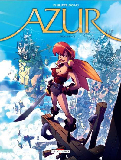Couverture azur tome 1 - providence