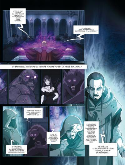 Page 3 surnaturels tome 1 - un choix tellement humain