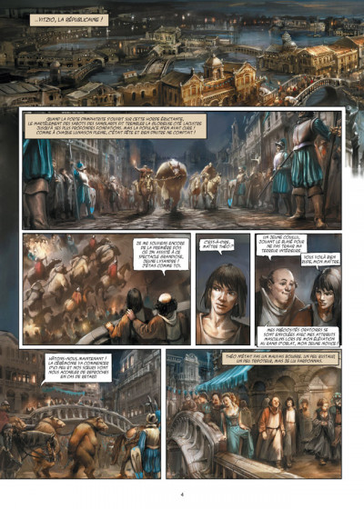 Page 2 Meridia tome 1 - les fleurs de Dorkéïne