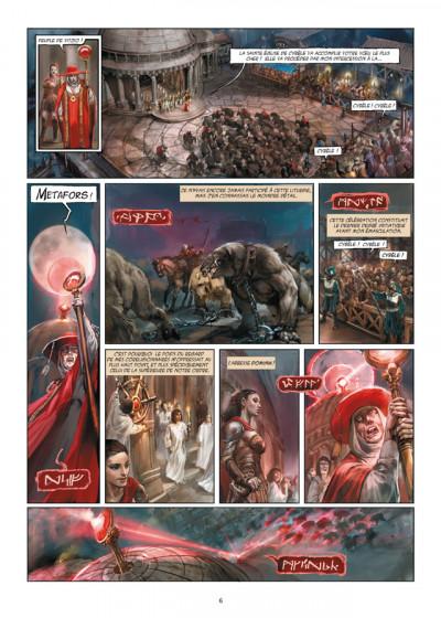 Page 4 Meridia tome 1 - les fleurs de Dorkéïne