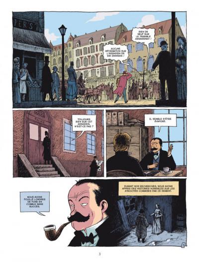Page 1 l'étrange cas du Dr Jekyll et de Mr Hyde tome 2