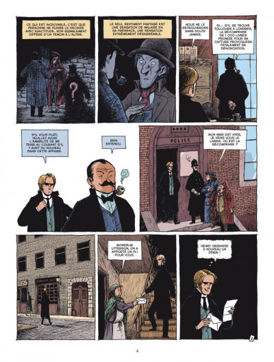 Page 2 l'étrange cas du Dr Jekyll et de Mr Hyde tome 2