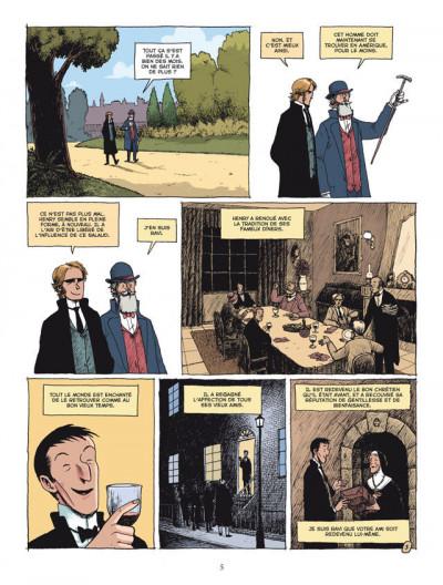 Page 3 l'étrange cas du Dr Jekyll et de Mr Hyde tome 2