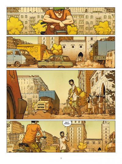 Page 1 Yerzhan tome 1 - fugitifs