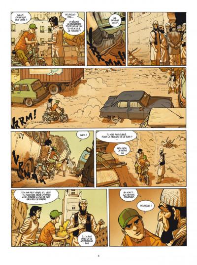 Page 2 Yerzhan tome 1 - fugitifs