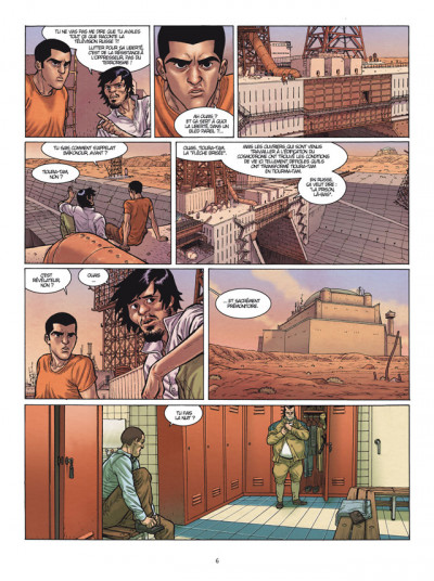 Page 4 Yerzhan tome 1 - fugitifs