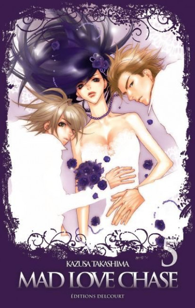 Couverture mad love chase tome 5