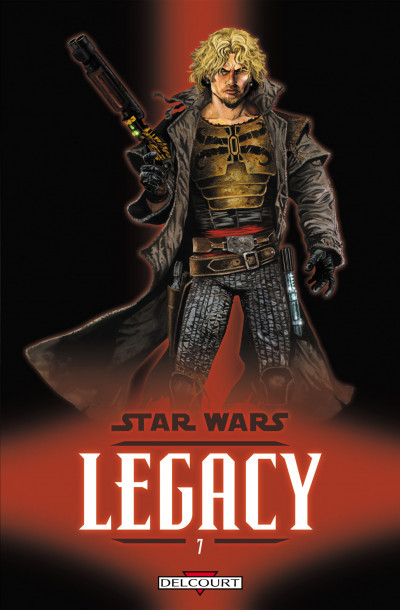 Couverture star wars - legacy tome 7 - tatooine