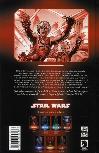Dos star wars - legacy tome 7 - tatooine