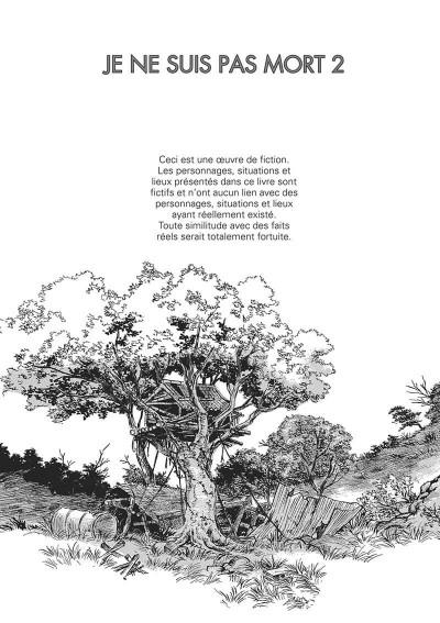 Page 2 Je ne suis pas mort tome 2