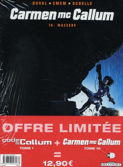 Couverture carmen mc callum tome 10 - + code mc callum tome 1 gratuit