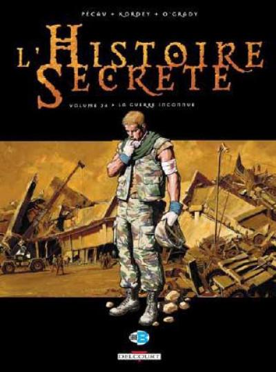 image de l'histoire secrète tome 24 - la guerre inconnue