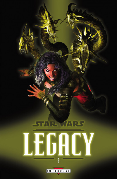 Couverture star wars - legacy tome 8 - monstre