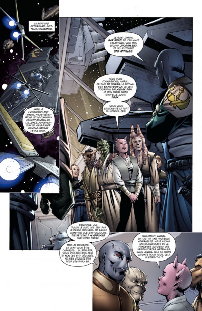 Page 1 star wars - legacy tome 8 - monstre