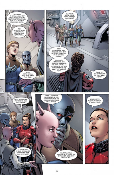 Page 2 star wars - legacy tome 8 - monstre