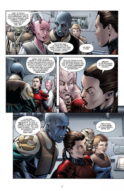 Page 3 star wars - legacy tome 8 - monstre