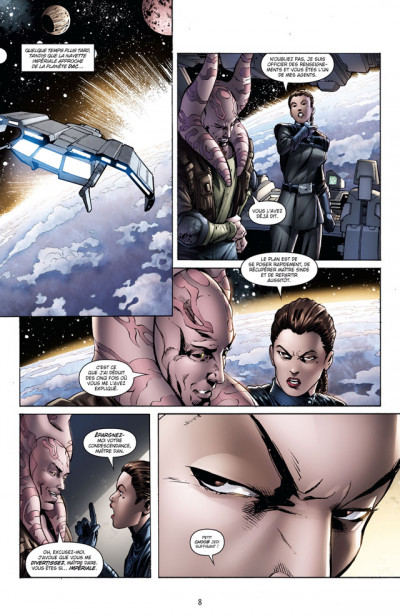 Page 4 star wars - legacy tome 8 - monstre